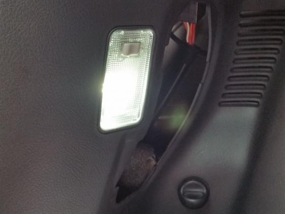 Kofferraumleuchte LED