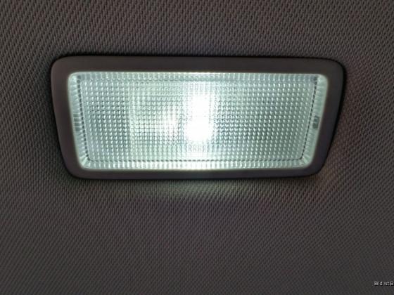 Schminkspiegelleuchte mit LED