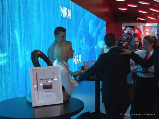 internationale Automobil Ausstellung Frankfurt 2015