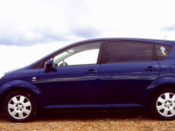 Mein Toyota Corolla-Verso 2004