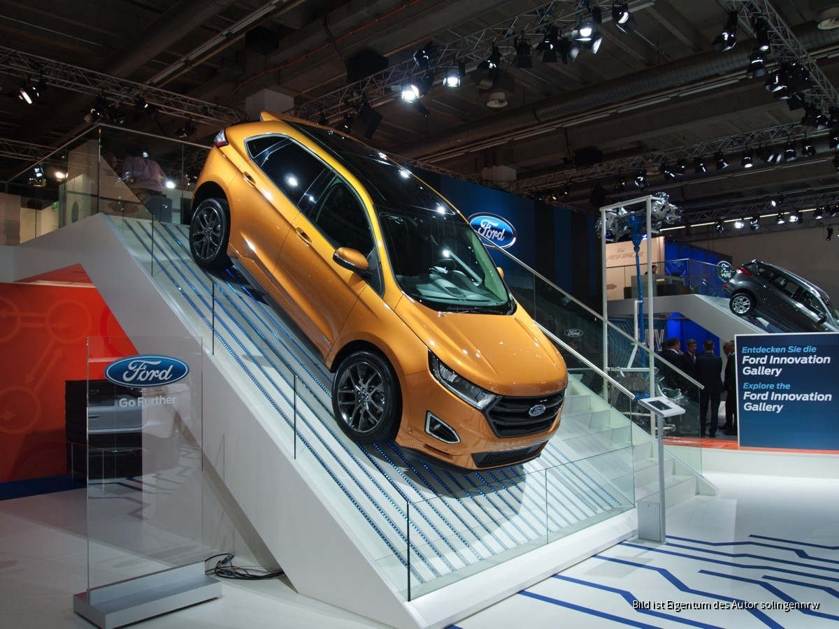 Internationale Automobil Ausstellung Frankfurt 2015
