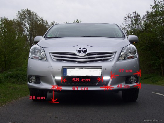 Tagfahrlicht Toyota Verso