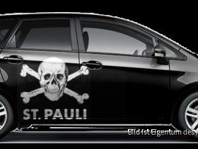St. Pauli schwarz
