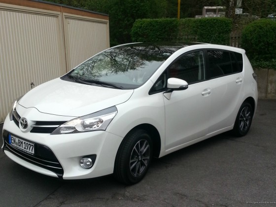 Mein Toyota Verso