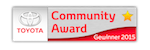Logo des Toyota Community Awards